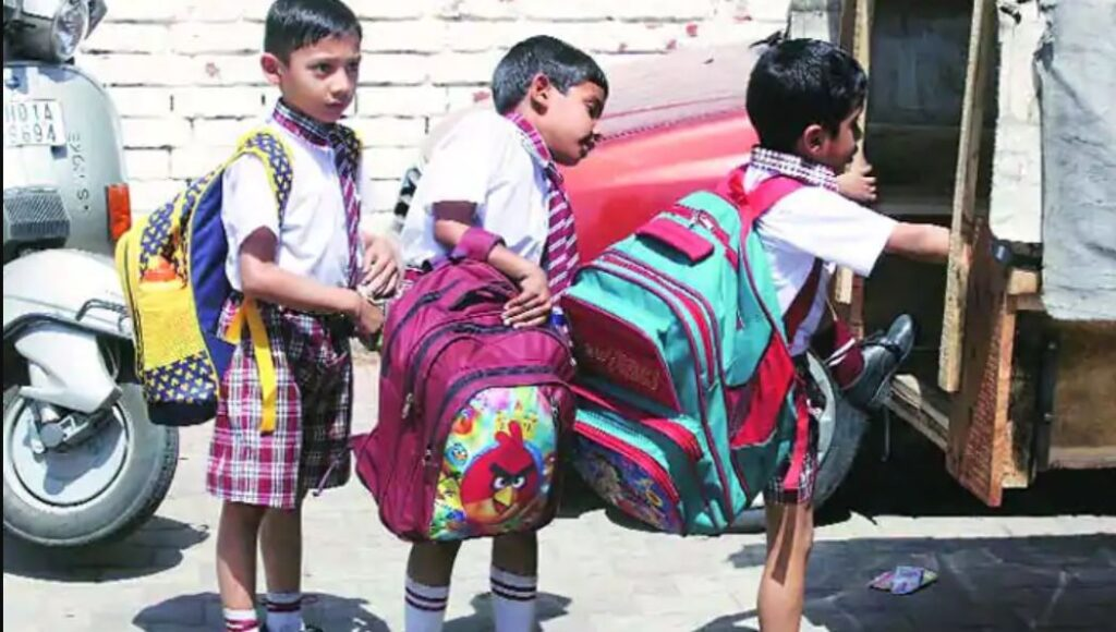 new education policy targets to stop heavy bags