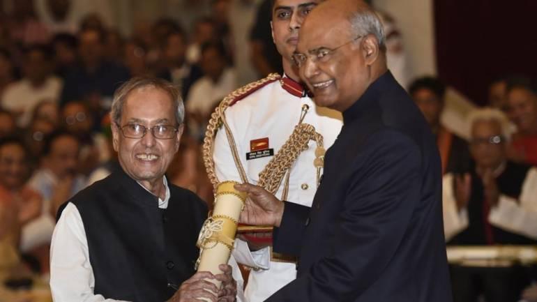 Bharat Ratna Pranav mukherjee