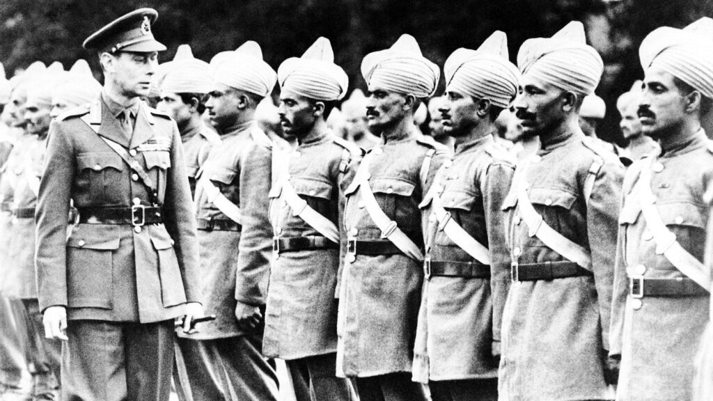 indian troops in 2nd World WAR  in hindi