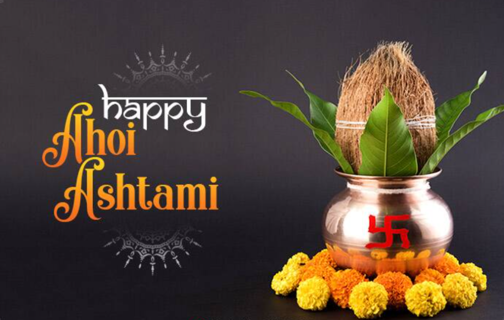 images of happy ahoi ashtami